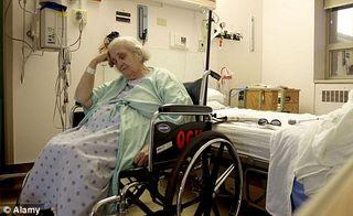Sedated patient